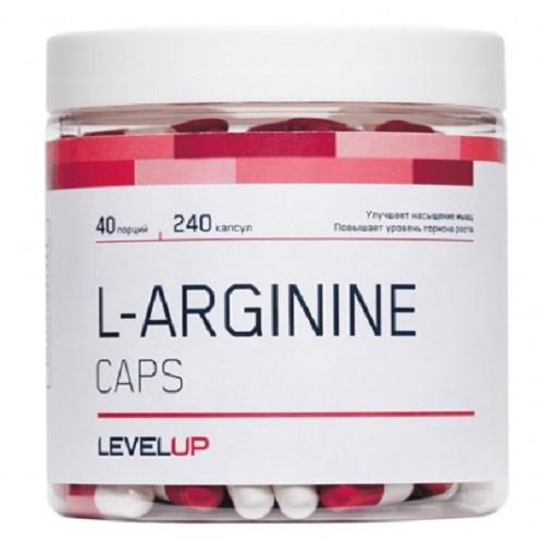 LevelUp Arginin Caps 240к