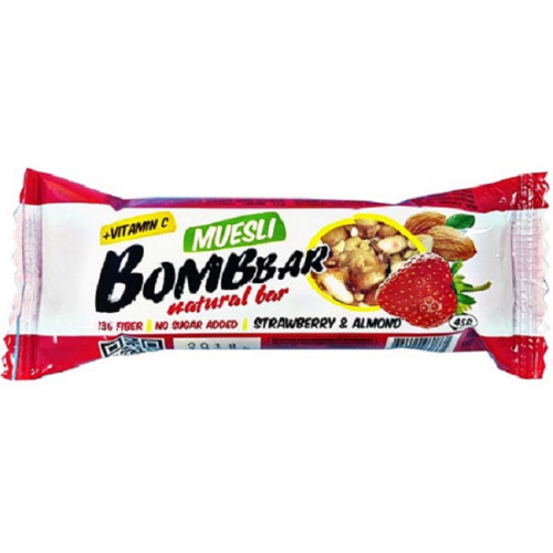 BombBar Мультизлаковый  батончик 45гр