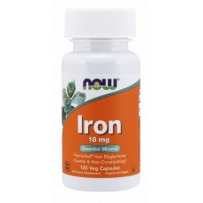 NOW Iron 18mg 120c