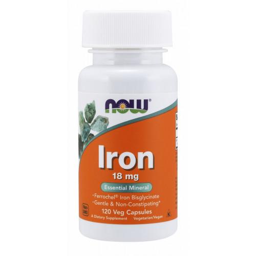 NOW Iron 18mg 120c
