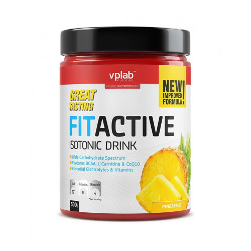 Vplab FitActive Isotonic 500г