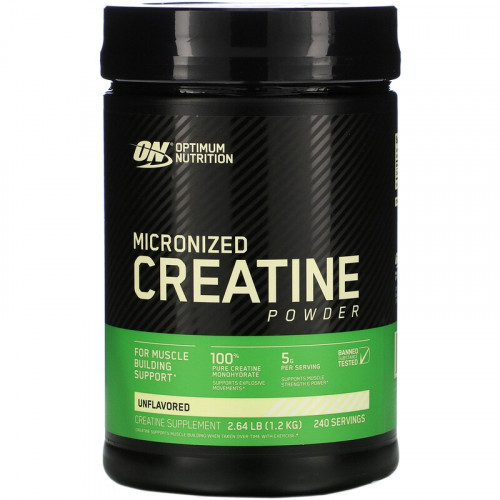 Optimum Nutrition Micronized Creatine Powder 1200г