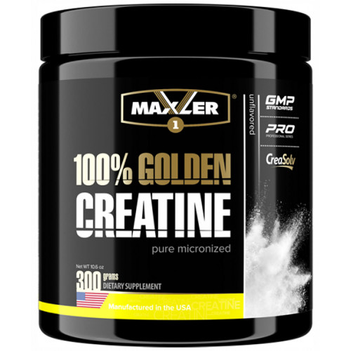 Maxler Golden Creatine Can 300г