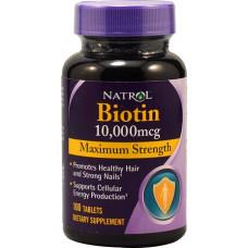 Natrol Biotin 10000 100к