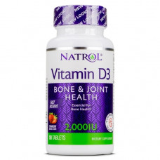Natrol Vitamin D3 2000ME 90т