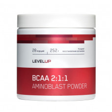 LevelUp BCAA Powder 252г