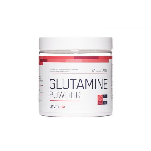 LevelUp Glutamine Powder 240г