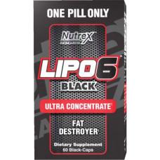 Nutrex Lipo6 Black Ultra 60к