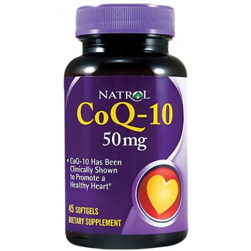 Natrol Co Q-10 100мг 45к