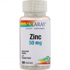 Solaray Zink 50mg 100к