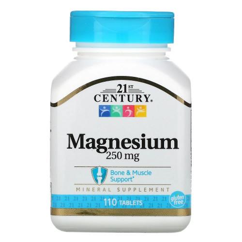 21st Century Magnesium 250mg 110т