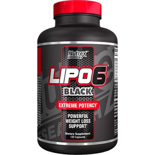 Nutrex Lipo6 Black 120к