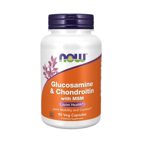 NOW Clucosamine & Chondroitine & MSM 90к