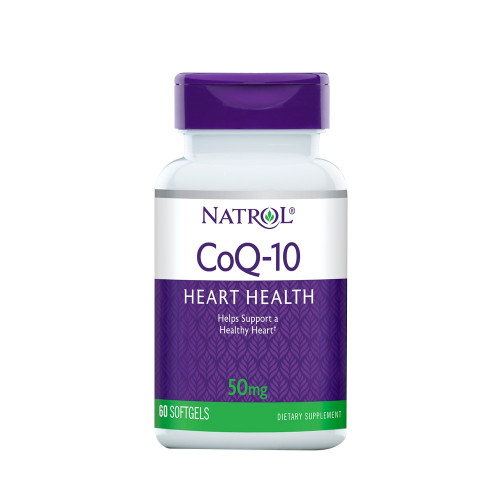 Natrol Co Q-10 50мг 60к