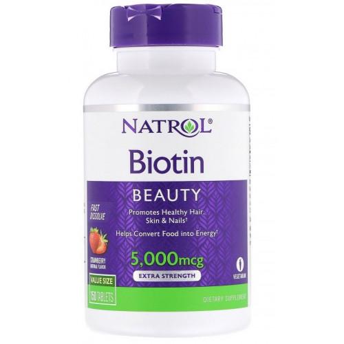 Natrol Biotin 5000 250т