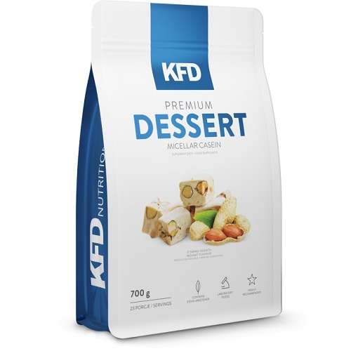 KFD Nutrition Dessert Micellar Casein 700г