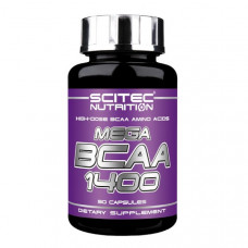 Scitec Nutrition Mega BCAA 1400 90к