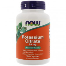 NOW Potassium Citrate 99mg 180c