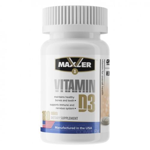 Maxler Vitamin D3 180т