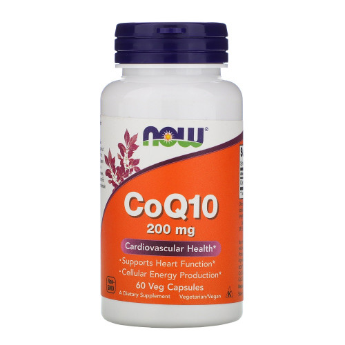 NOW CoQ10 200mg 60к