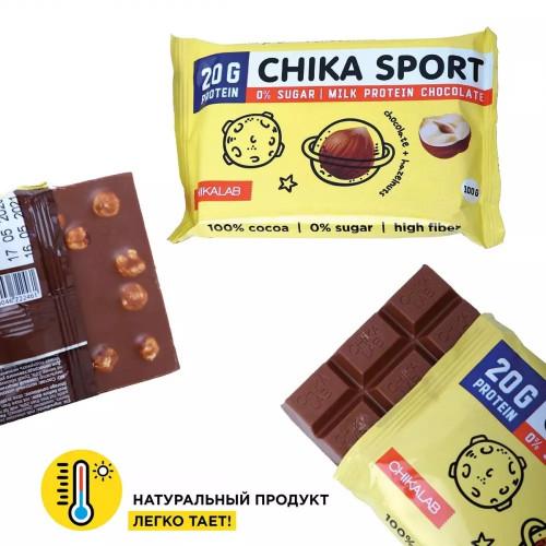 BombBar CHIKALAB Шоколад 100г