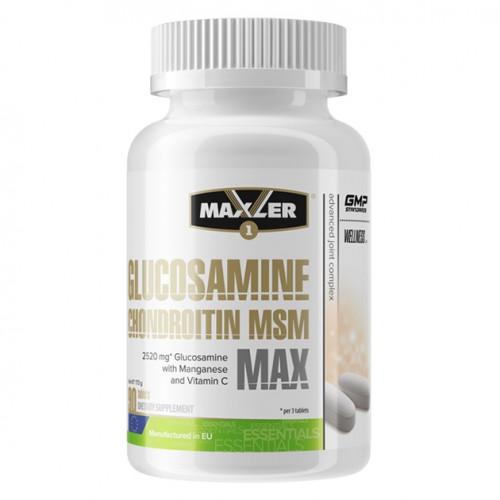 Maxler Glucosamine & Chondroitin & MSM MAX 90т