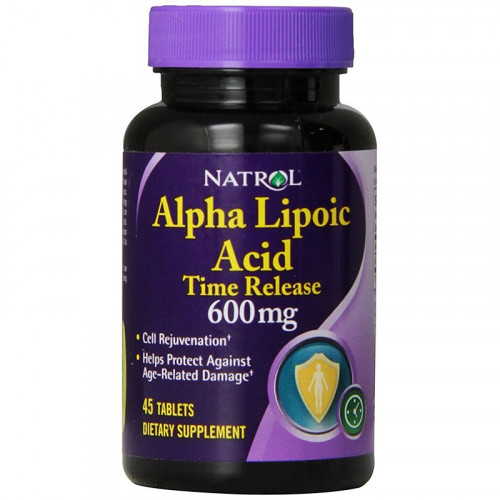 Natrol Alpha Lipolic Acid 600mg 45к